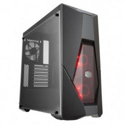 COOLER MASTER Boîtier PC MasterBox K500L avec RED LED fan
