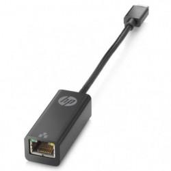 HP Adaptateur USB-C à RJ45 - Noir
