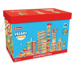 JEUJURA Tecap ? Color - 500 planchettes en bois de couleur