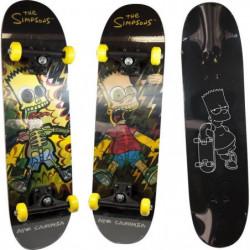 BART SIMPSON Skateboard hologramme