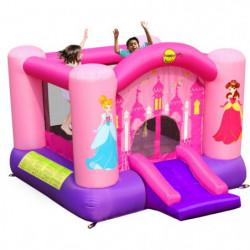 HAPPY HOP Château - Aire de jeux gonflable Princesses