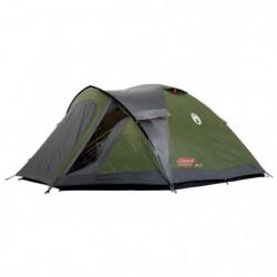 COLEMAN Tente Darwin 4 Plus - 4 Personnes - Vert et Gris