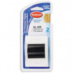 HAHNEL HL006 Batterie li-ion conçue pour les appareils photo