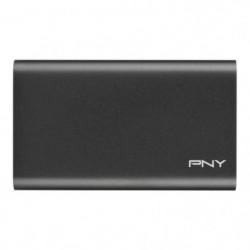 PNY - Disque SSD Externe - Elite - 960Go - USB 3.1