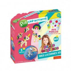 Gulli Cré'activités Perles Magiques (800p) - Licornes