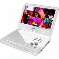 "D-JIX PVS1006-20 Blanc Lecteur DVD portable 10"" rotatif"