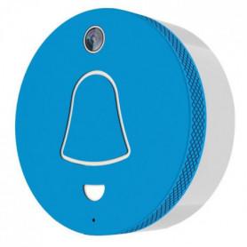 EXTEL Link Carillon connecté WiFi bleu avec caméra
