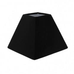 Abat-jour forme Pyramide - 16 x 16 x H 13 cm - Polycoton - N