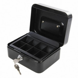SILVERLINE Petite caisse métallique a serrure