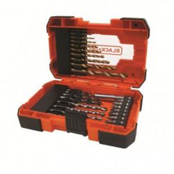 BLACK&DECKER Coffret 27 accessoires perçage vissage A7235
