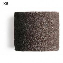DREMEL Lot de 6 bandes de ponçage 13mm grain 120 (432)