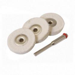SILVERLINE Ensemble de disques de polissage pour outil rotat
