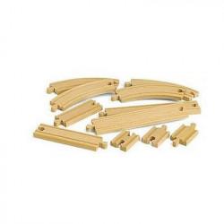 BRIO World - 33401 - Coffret Evolution Debutants -11 Rails -