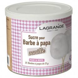 LAGRANGE 380006 Boîte de sucre a barbe a papa 500 g - Vanill
