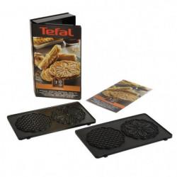 TEFAL Accessoires XA800712 Lot de 2 plaques bricelets Snack
