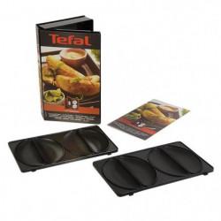 TEFAL Accessoires XA800812 Lot de 2 plaques empanadas Snack
