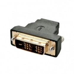 LINDY Adaptateur DVI-D mâle / HDMI à femelle