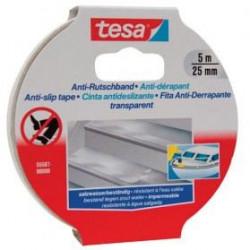 TESA Ruban adhésif antidérapant - 5m x 25mm - Transparent