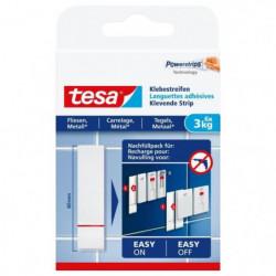 TESA Languettes adhésives - Pour carrelage & métal - Charge