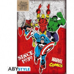 Poster Marvel - Héros 1939 roulé filmé (91.5x61) - ABYstyle