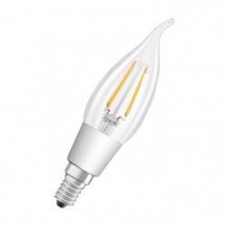 OSRAM Ampoule LED E14 flamme claire 4,5 W équivalent à 40 W