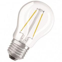 OSRAM Ampoule LED E27 sphérique claire 4,5 W équivalent a 40