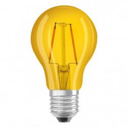 OSRAM Ampoule déco LED standard E27 - Jaune