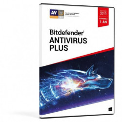 Bitdefender Antivirus Plus 2019 - 1 an 3 PC