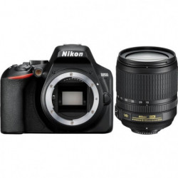 NIKON D3500 Appareil photo Reflex + AF-S 18/105 VR - 24,2 Mp