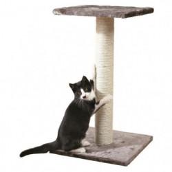 TRIXIE Espejo Arbre à chat Hauteur 69 cm gris platinium pelu