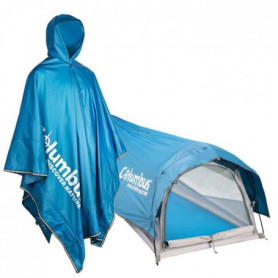 COLUMBUS Poncho Tente Nomad Bleu