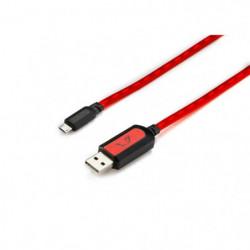 MGF Câble lumineux Gamium pour smartphone - USB C - Mâle - C