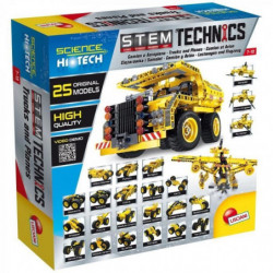 LISCIANI GIOCHI Jeux de construction Stem Technics - Avion e