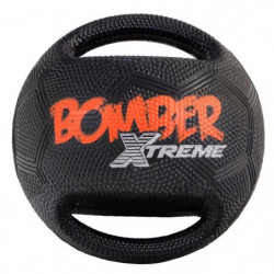 ZEUS Balle Xtreme Bomber en caoutchouc 17,8 cm - Noir et ora