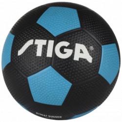 STIGA Ballon de football street soccer - Noir et bleu - Tail