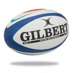 GILBERT Ballon de rugby Replique Club Agen - Taille 5 - Homm