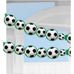 AMSCAN Guirlande papier Championship Soccer 243 x 14 cm