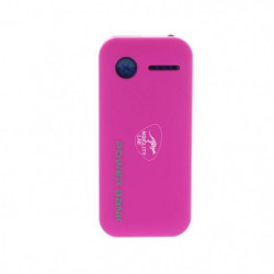 ML Batterie externe 4400mAh - Rose
