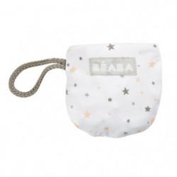 BEABA Bavoir coton étoiles