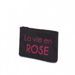 """BAM - Pochette noire - Message """"La Vie en Rose"""""""