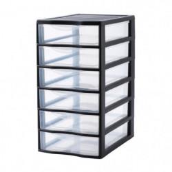 SUNDIS Tour de rangement Orgamix avec 6 tiroirs format A4 no