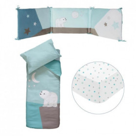 DOMIVA Set De Lit Flocon 60x120 cm