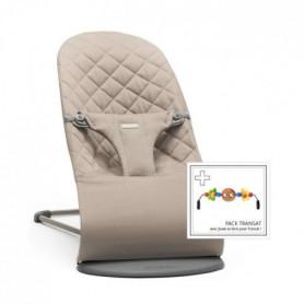 BABYBJORN Transat Bliss coton Sable / Gris