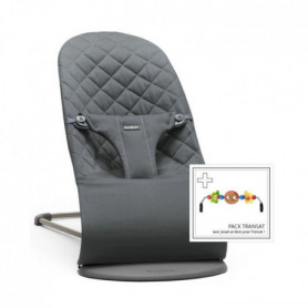 BABYBJORN Transat Bliss coton Anthracite