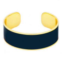 ODISSI Bracelet Bangle Laiton ODI006 Bleu et Doré Femme