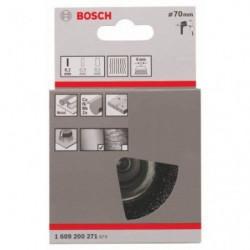 BOSCH Brosse boisseau a fils ondulés - 0,2 mm / 70 mm