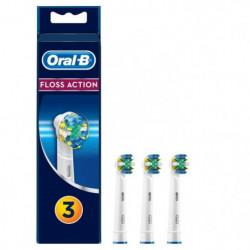 Oral-B FlossAction 3 brossettes de rechange
