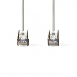 Câble Réseau Cat 5e SF-UTP   RJ45 Male - RJ45 Male   10 m  