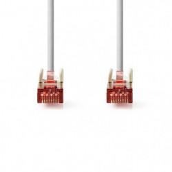 Cable Réseau Cat 6 S-FTP | RJ45 Male - RJ45 Male | 10 m | Gr