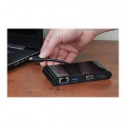 STARTECH.COM Adaptateur multiport USB-C pour ordinateur port